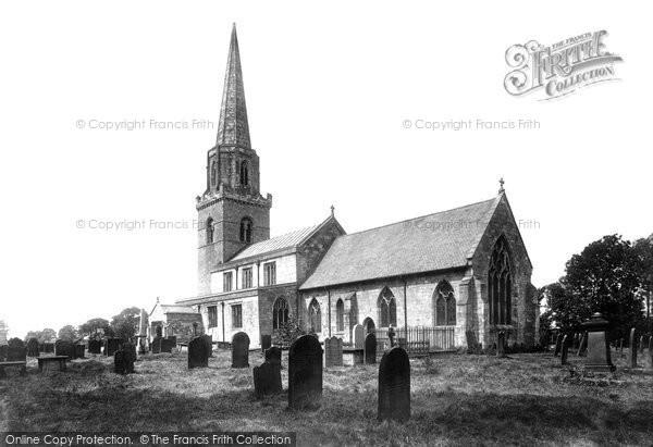 Brayton, St Wilfrid's Church 1901