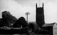 Breage, St Breaca Church c.1955