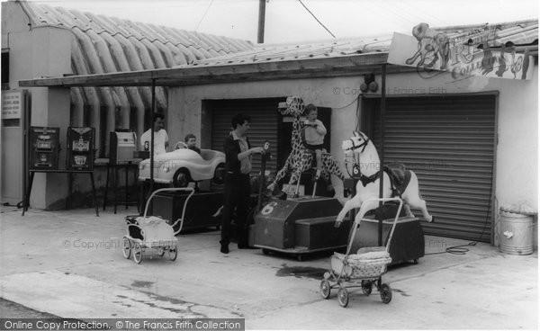 Brean, Childrens Corner, Sunnyholt Caravan Park c.1965