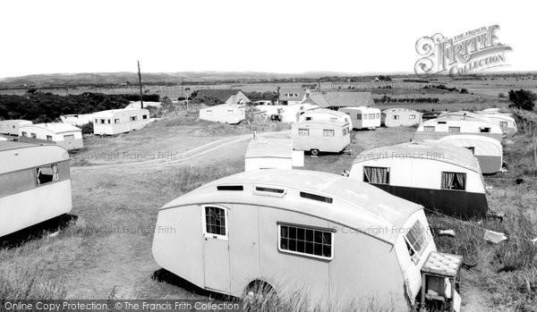 Brean, Neilson's Holiday Caravans c.1960