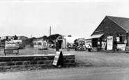 Brean, Sunny Holt Caravan Site c.1960