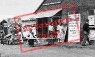 Brean, Sunny Holt Caravan Site, Shop c.1960