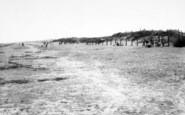 Brean, The Beach, Sunnyholt Caravan Park c.1960