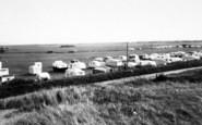 Brean, The Caravan Sites c.1955