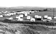 Brean, The Caravan Sites c.1960