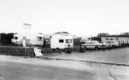 Brean, The Entrance, Sunnyholt Caravan Park c.1965