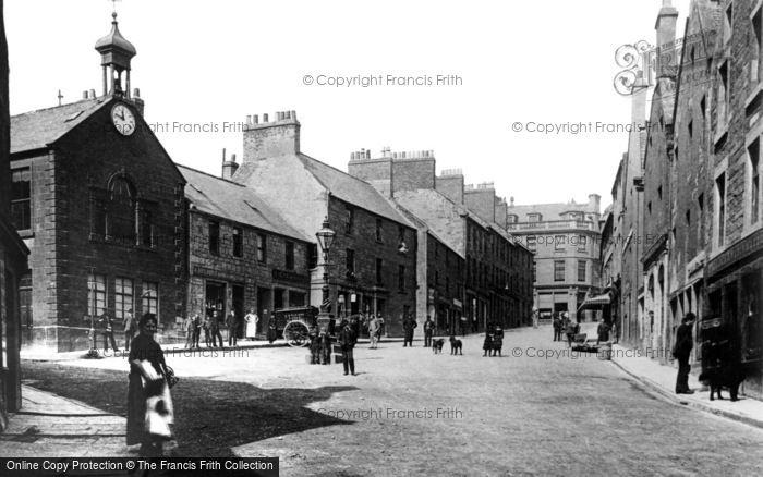 Brechin, High Street c.1890