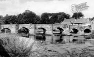 Brecon, Bridge c.1960