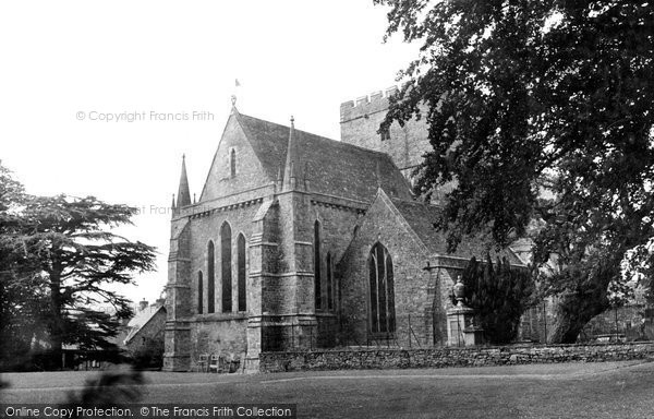 Brecon, Cathedral c.1955
