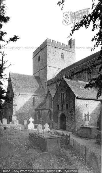 Brecon, Cathedral c.1955