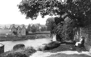 Brecon, Christs College From The Captains Walk 1910