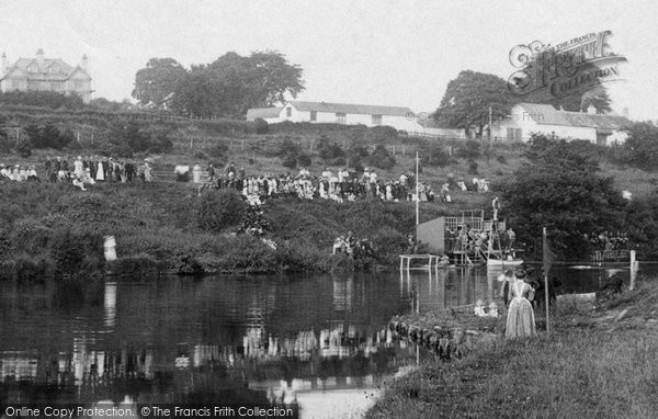 Brecon, Diving, Newton Pool 1910