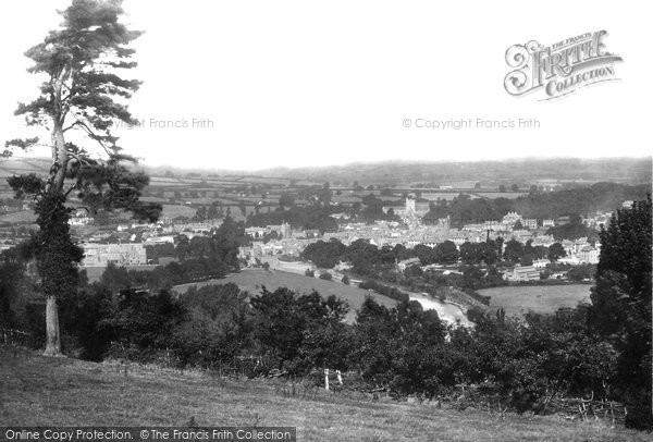 Brecon, From South 1899