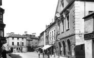 Brecon, High Street 1899