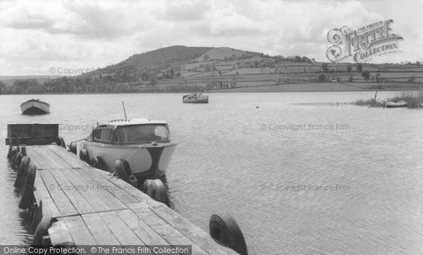 Brecon, Llangorse Lake c.1965