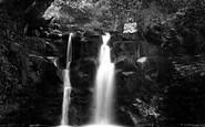 Brecon, Lower Ffrwdgrech Waterfalls 1910