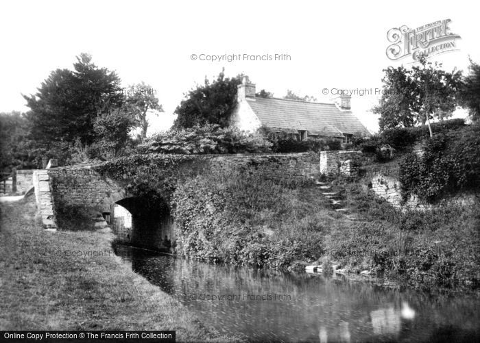 Brecon, On The Canal 1899