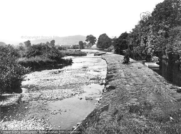 Brecon, River Usk c.1940