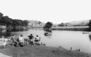 Brecon, River Usk c.1965