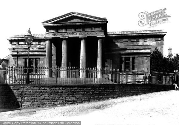 Brecon, Shire Hall 1899