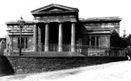 Brecon, Shire Hall 1899