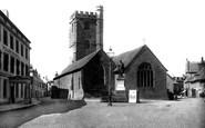 Brecon, St Mary's Church 1899