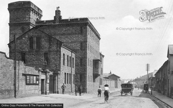 Brecon, The Barracks 1910