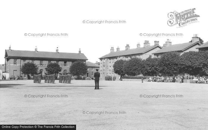 Brecon, The Brecon Barracks c.1960
