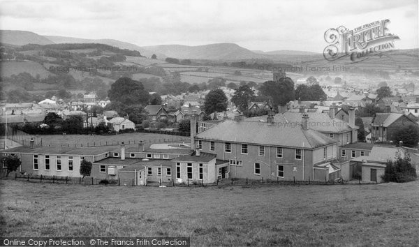 Brecon, The Hospital c.1965