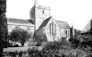 Brecon, The Priory Church 1899