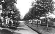 Brecon, The Promenade 1899