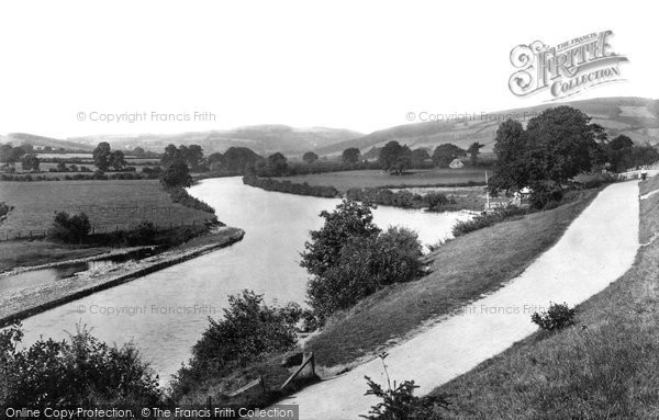 Brecon, The Promenade And Newton Pool 1899