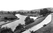 Brecon, The Promenade And Newton Pool 1899