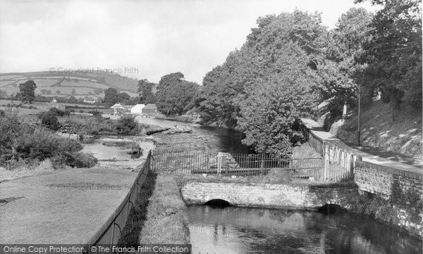 Brecon, The Promenade c.1960