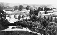 Brecon, Usk Bridge And The Beacons c.1940