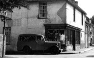 Bredgar, Post Office And Van c.1955