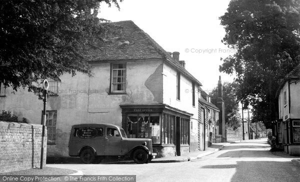 Photo of Bredgar, the Street c1955