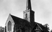 Bredon, Church Of St Giles c.1950