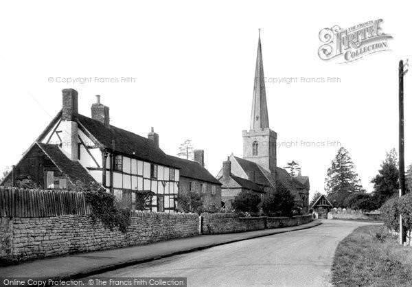 Bredon, Church Of St Giles c.1955