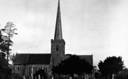 Bredon, Church Of St Giles c.1955