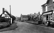 Bredon, Church Street And Post Office c.1950