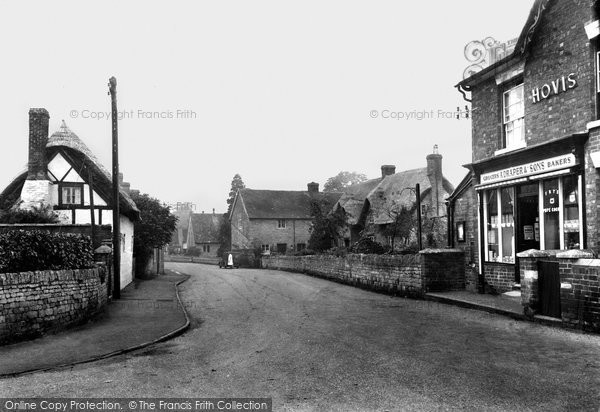 Bredon, Church Street And Post Office c.1955