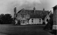 Bredon, The Rectory c.1955