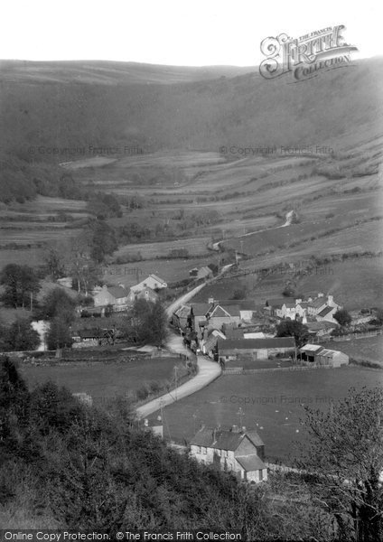Brendon, Moors And Village c.1955