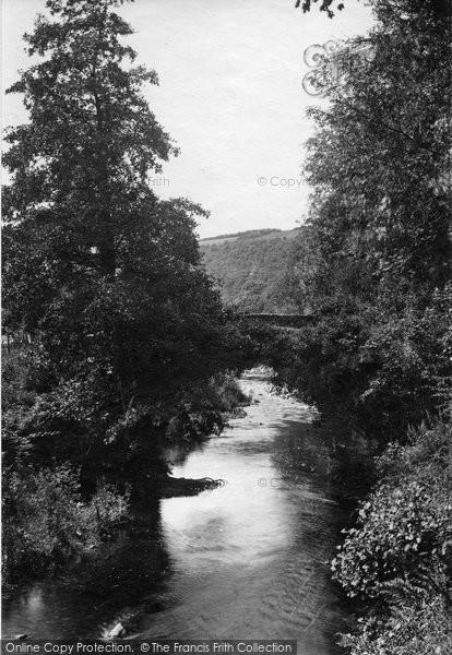 Brendon, Old Fry Bridge 1907