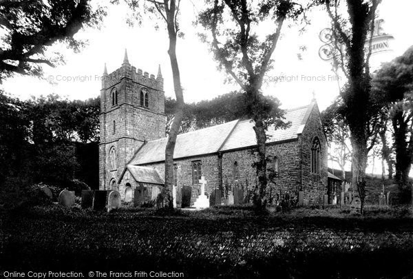 Brendon, St Brendon's Church 1907
