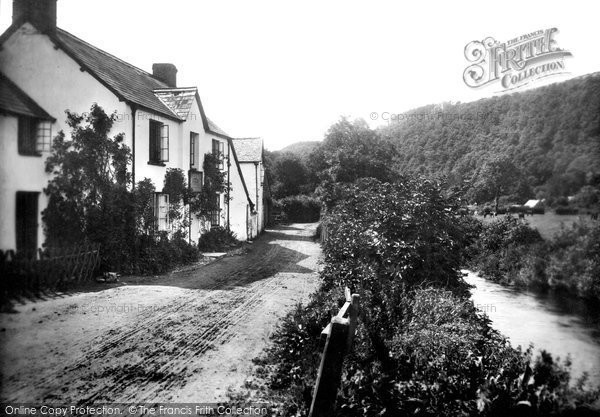 Brendon, Stag Hunters Inn 1907