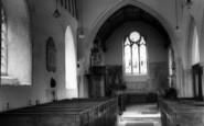 Brent Eleigh, Church Interior c.1960