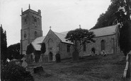 Brent Knoll, St Michael's Church 1913