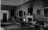 Brentford, Red Drawing Room, Syon House c.1955
